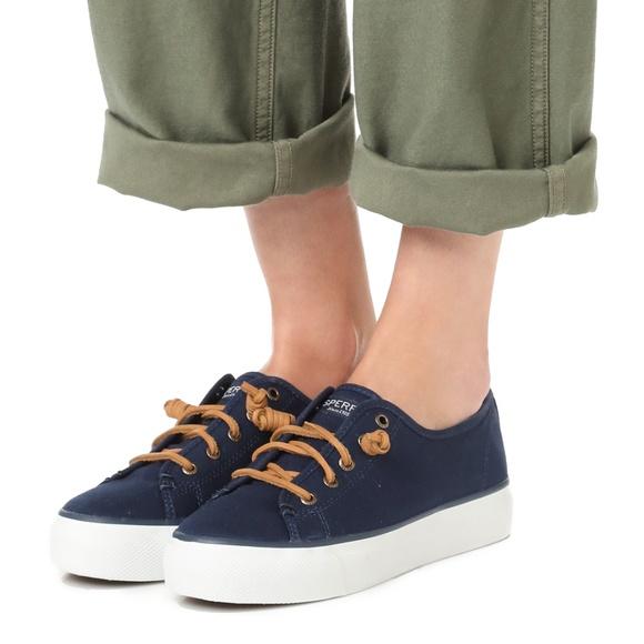 dee0c3da0c Sperry Shoes | Nwt Sky Sail Platform Sneakers | Poshmark